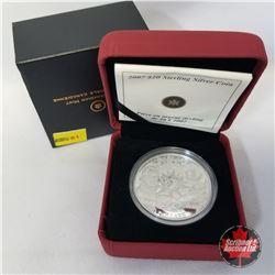 "RCM 2007 $20 Sterling Silver Coin ""International Polar Year"" COA#06193/15000"