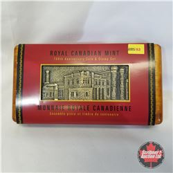 """RCM """"100th Anniversary Coin & Stamp Set"""" Limited Edition 01701/16000"""