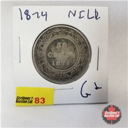 NFLD Fifty Cent 1874