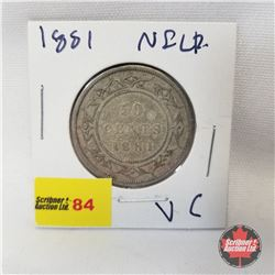 NFLD Fifty Cent 1881