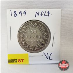 NFLD Fifty Cent 1899