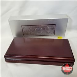 RCM 2003 Silver Maple Leaf Hologram 5 Coin Set (99.99% Fine Silver)  COA#10100