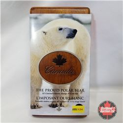 "RCM ""The Proud Polar Bear"" $2 Limited-Edition Stamp & Coin Set COA#01870/25222"