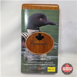 "RCM ""The Elusive Loon"" $1 Limited-Edition Stamp & Coin Set COA#03739/25111"