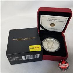 RCM 2008 Vignettes of Royalty Series - Queen Victoria $15 Coin COA#00515/10000