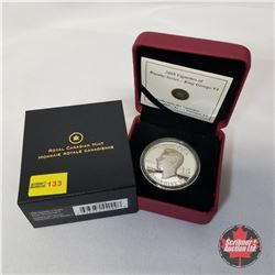 RCM 2009 Vignettes of Royalty Series - King George VI $15 Coin COA#00163/10000