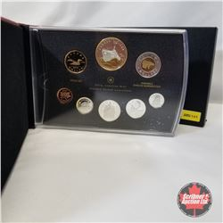 "RCM 2010 Proof Set ""100th Anniversary of the Canadian Navy (1910-2010) A Century of Service and Achi"