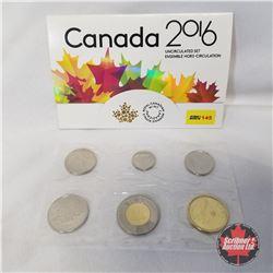 Canada 2016 Uncirculated Set  #05851/60000