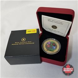RCM 2007 Fifty Cent Coin  Holiday Ornaments  COA#08246/50000