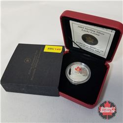 RCM 2004 Sterling Silver Lucky Loonie  COA#03178