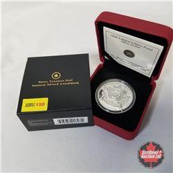 RCM 2008 Limited Edition Proof Silver Dollar  COA#0120/5000