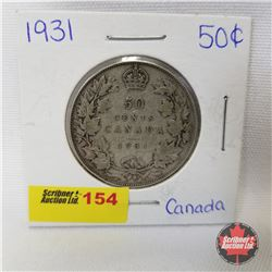 Canada Fifty Cent 1931