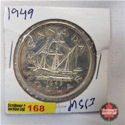 Canada One Dollar 1949