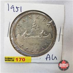 Canada One Dollar 1951