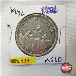 Canada One Dollar 1952