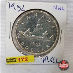 Canada One Dollar 1952NWL