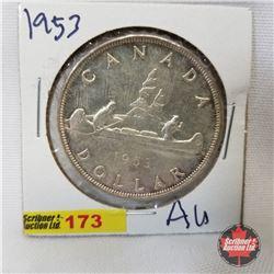 Canada One Dollar 1953