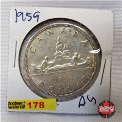 Canada One Dollar 1959