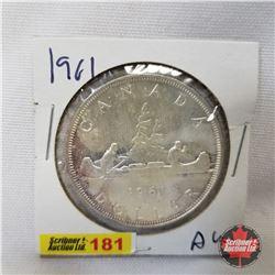 Canada One Dollar 1961