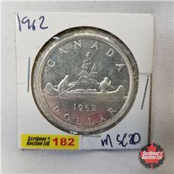 Canada One Dollar 1962