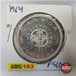 Canada One Dollar 1964