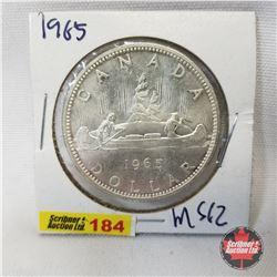 Canada One Dollar 1965