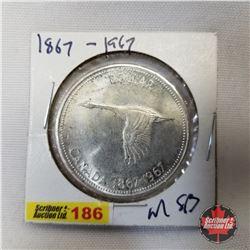 Canada One Dollar 1867-1967