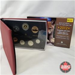 "RCM Special Edition $2 Coin Specimen Set 2012 ""Young Wildlife Series - Wolf"" COA#04553/15000"