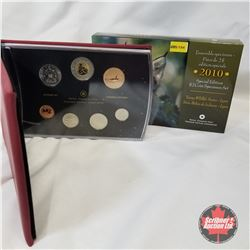 "RCM Special Edition $2 Coin Specimen Set 2010 ""Young Wildlife Series - Lynx"" COA#00359/15000"