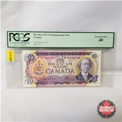 Canada $10 Bill 1971* Replacement Note : Lawson/Bouey *TG1262706