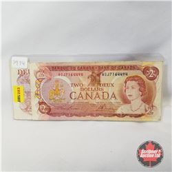 Canada $2 Bill 1974 - Group of 2 (Lawson/Bouey) (Crow/Bouey)