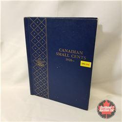 Canada 1¢ Collection - Whitman Folder 54 Coins (1920-1969) 1940 + 1959 + 1927
