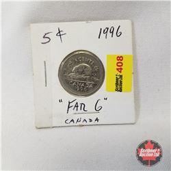 Canada Five Cent 1996 Far 6