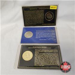 Collector Medallions (3): Muhammad Ali & W.D. Muhammad