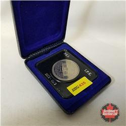 1873-1973 P.E.I. $1 Coin (in Case)