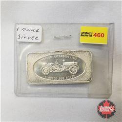 """1 Ounce Silver Bar """"Mercer Raceabout 1913"""""""