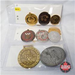 Group of Large Medals (20): Canadian Federation of Amateur Aquatics, Maine Sesqui-Centennial, Operat