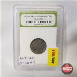 US Five Cent ? 1913-1938 : Graded/Encased International Numismatic Bureau