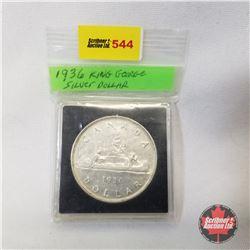 Canada One Dollar 1936 (in case)