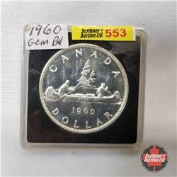 Canada One Dollar 1960 (in case)