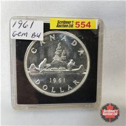 Canada One Dollar 1961 (in case)