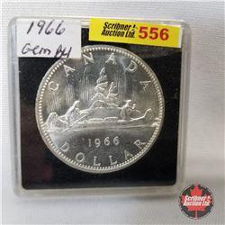Canada One Dollar 1966 (in case)