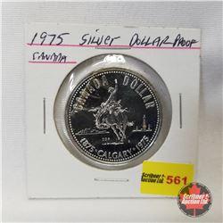Canada Proof Dollar 1975