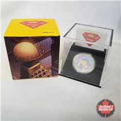 RCM 2013 $20 Fine Silver Coin - 75th Anniversary of Superman Metropolis