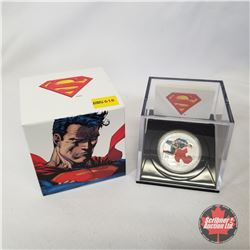 RCM 2013 $20 Fine Silver Coin - 75th Anniversary of Superman Man of Steel