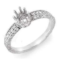 0.50 CTW Certified VS/SI Diamond Ring 14K White Gold - REF-41Y3K - 11031