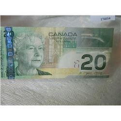 PAPER NOTE - CANADA - $20 - 2004