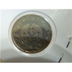COIN - 1/12 ANNA INDIA - 1924