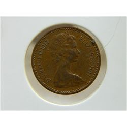 COIN - 1/2 NEW PENNY - 1977