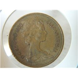 COIN - 2 NEW PENCE - 1980